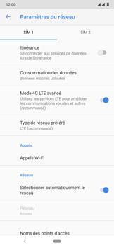 Nokia 6.2 - Réseau - Sélection manuelle du réseau - Étape 8