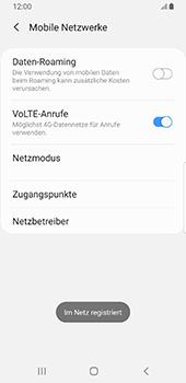 Samsung Galaxy S9 - Android Pie - Netzwerk - Manuelle Netzwerkwahl - Schritt 13