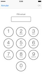 Apple iPhone 5c - Sécuriser votre mobile - Personnaliser le code PIN de votre carte SIM - Étape 9