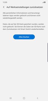 Samsung Galaxy Note 10 Plus 5G - Gerät - Zurücksetzen auf die Werkseinstellungen - Schritt 8