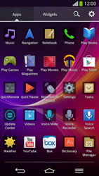 LG D955 G Flex - Applications - Setting up the application store - Step 3
