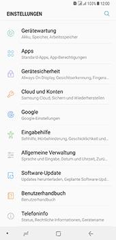 Samsung Galaxy A8 Plus (2018) - Fehlerbehebung - Handy zurücksetzen - 2 / 2