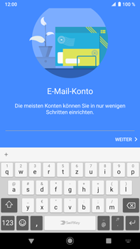 Sony Xperia XZ2 Premium - Android Pie - E-Mail - Konto einrichten - Schritt 7