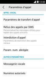 Huawei Ascend Y330 - Messagerie vocale - configuration manuelle - Étape 6