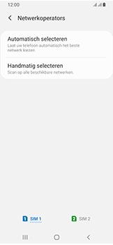 Samsung Galaxy A40 - Netwerk - Handmatig een netwerk selecteren - Stap 7