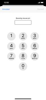 Apple iPhone XS Max - iOS 13 - Beveiliging - Stel de pincode voor je simkaart in - Stap 10