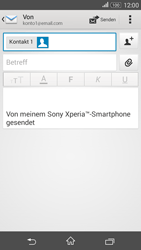 Sony Xperia E4G - E-Mail - E-Mail versenden - 8 / 16