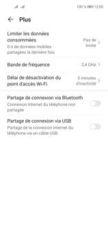 Huawei P40 Lite 5G - Internet et connexion - Utiliser le mode modem par USB - Étape 8