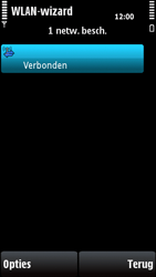 Nokia X6-00 - wifi - handmatig instellen - stap 16