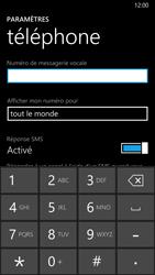 Nokia Lumia 830 - Messagerie vocale - configuration manuelle - Étape 8