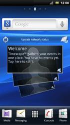 Sony Ericsson Xpéria Arc - Photos, vidéos, musique - Regarder la TV - Étape 1