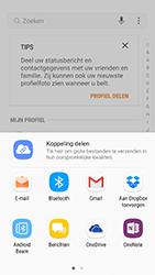 Samsung Galaxy S6 - Android Nougat - Contactgegevens overzetten - delen via Bluetooth - Stap 8