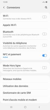 Samsung Galaxy A50 - Internet et connexion - Accéder au réseau Wi-Fi - Étape 5