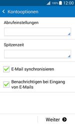 Samsung J100H Galaxy J1 - E-Mail - Konto einrichten - Schritt 16