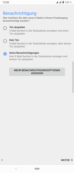 Sony Xperia 10 Plus - E-Mail - Konto einrichten - Schritt 20