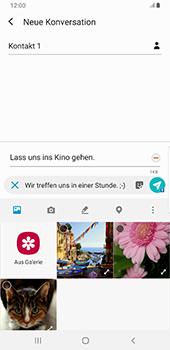 Samsung Galaxy S9 Plus - Android Pie - MMS - Erstellen und senden - Schritt 18