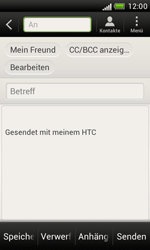 HTC Desire X - E-Mail - E-Mail versenden - 7 / 16