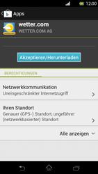 Sony Xperia T - Apps - Herunterladen - 2 / 2