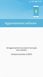 Samsung Galaxy A3 (2017) - Software - Installazione degli aggiornamenti software - Fase 8