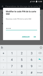 HTC 10 - Sécuriser votre mobile - Personnaliser le code PIN de votre carte SIM - Étape 10