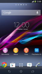 Sony D5503 Xperia Z1 Compact - E-mail - E-mail versturen - Stap 1