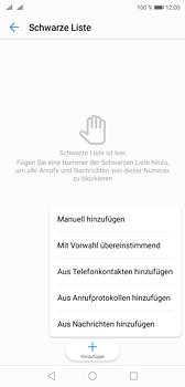 Huawei P20 - Anrufe - Anrufe blockieren - Schritt 8