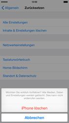 Apple iPhone 6 iOS 8 - Fehlerbehebung - Handy zurücksetzen - Schritt 9