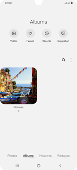 Samsung Galaxy A31 - Photos, vidéos, musique - Envoyer une photo via Bluetooth - Étape 6