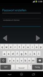 Sony Xperia Z1 - Apps - Konto anlegen und einrichten - Schritt 11