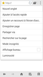 Samsung G850F Galaxy Alpha - Internet et roaming de données - Navigation sur Internet - Étape 13
