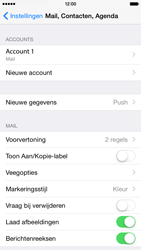 Apple iPhone 6 iOS 8 - E-mail - Account instellen (POP3 zonder SMTP-verificatie) - Stap 25
