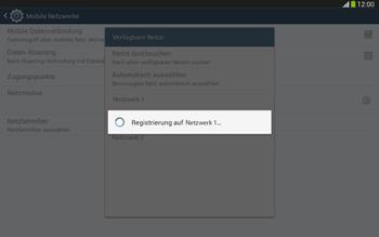 Samsung Galaxy Tab 3 10-1 LTE - Netzwerk - Manuelle Netzwerkwahl - Schritt 9