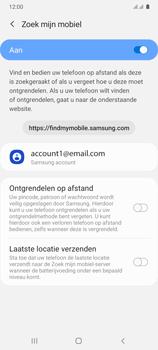 Samsung Galaxy A41 Dual-SIM (SM-A415F) - Beveiliging en ouderlijk toezicht - Zoek mijn mobiel inschakelen - Stap 7