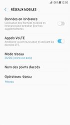 Samsung G920F Galaxy S6 - Android Nougat - Réseau - Changer mode réseau - Étape 6