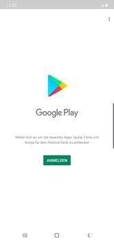 Samsung Galaxy Note 10 Plus 5G - Apps - Einrichten des App Stores - Schritt 4