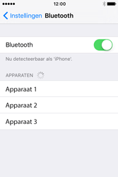Apple iPhone 4S (iOS 9) - bluetooth - headset, carkit verbinding - stap 5