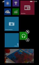 Nokia Lumia 635 - Operazioni iniziali - Personalizzazione della schermata iniziale - Fase 11