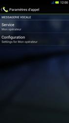 Acer Liquid E3 - Messagerie vocale - Configuration manuelle - Étape 7