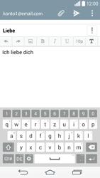 LG D855 G3 - E-Mail - E-Mail versenden - Schritt 10
