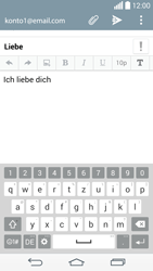 LG G3 - E-Mail - E-Mail versenden - 10 / 21