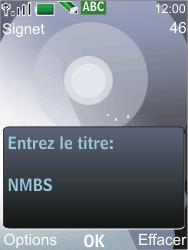 Nokia 7210 supernova - Internet - Navigation sur Internet - Étape 10