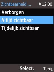 Nokia 220 - Bluetooth - Aanzetten - Stap 8