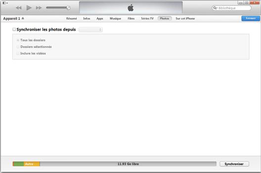Apple iPhone 11 - Photos, vidéos, musique - Récupérer vos contenus multimédias avec un ordinateur - Étape 6