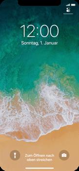 Apple iPhone X - Gerät - Einen Soft-Reset durchführen - Schritt 4