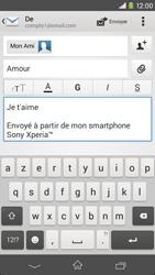 Sony D2303 Xperia M2 - E-mail - envoyer un e-mail - Étape 9