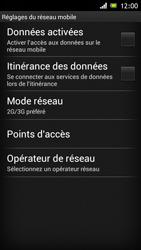 Sony Xperia J - Internet et roaming de données - Configuration manuelle - Étape 6