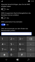 Microsoft Lumia 950 - SMS - Manuelle Konfiguration - 0 / 0