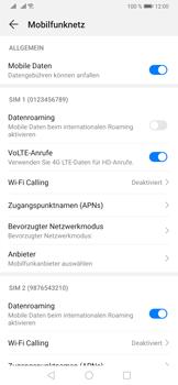 Huawei P30 Pro - WiFi - WiFi Calling aktivieren - Schritt 6