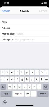 Apple iPhone X - iOS 13 - E-mail - Configurer l