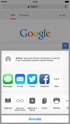Apple iPhone 6 Plus - iOS 8 - Internet e roaming dati - Uso di Internet - Fase 17